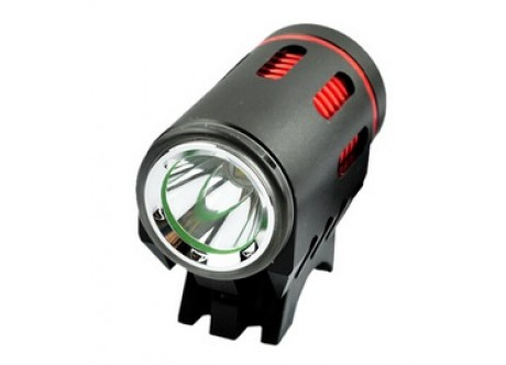 2 x Front Cree Bike Light | One Button Dip - 4400mAh